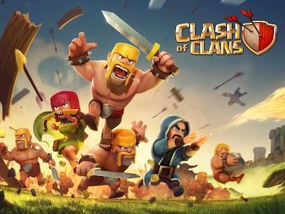 بازی برخورد قبیله ها Clash of Clans v5.2.10
