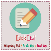 QuickList - Shopping/To-do etc