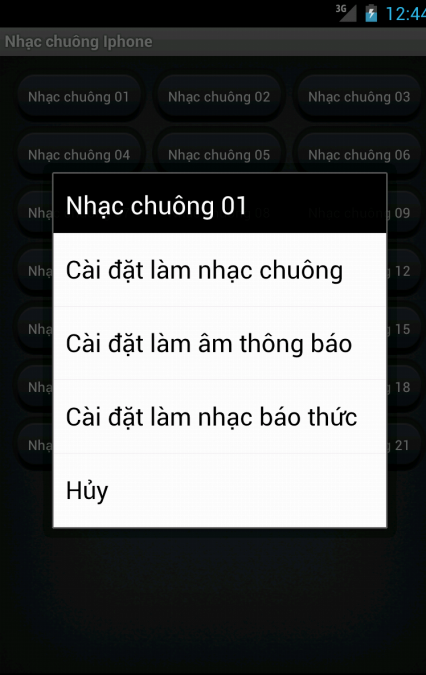 Nhac chuong Iphone - screenshot