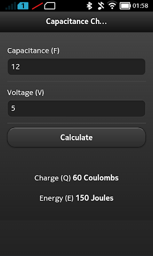 Capacitance Charge