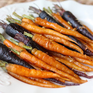 Roasted Carrots with Garlic and Onion