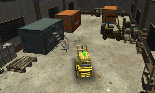 3D Forklift Driving