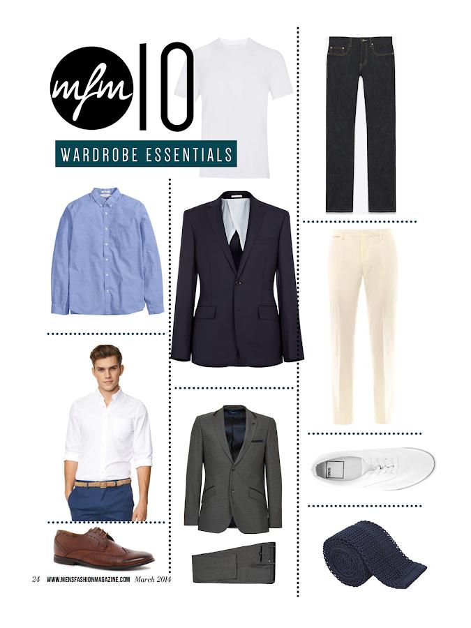 Mens Fashion Clothing Magazines