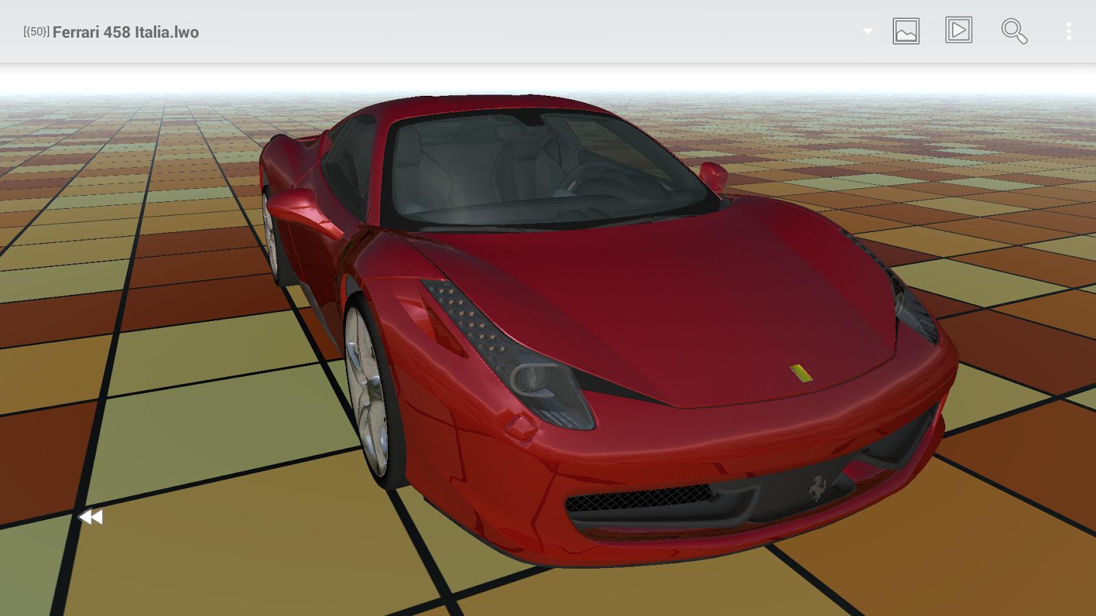 Buf3D 3d and lego model viewer - screenshot