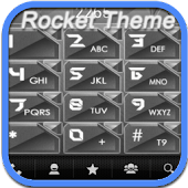 RocketDial Metal Theme