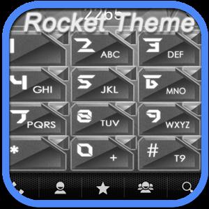RocketDial Metal Theme 通訊 App LOGO-硬是要APP
