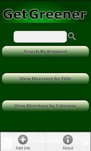 Go Green Eco-Directory- screenshot thumbnail