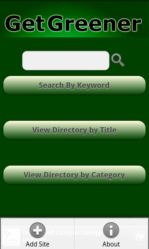 Go Green Eco-Directory- screenshot