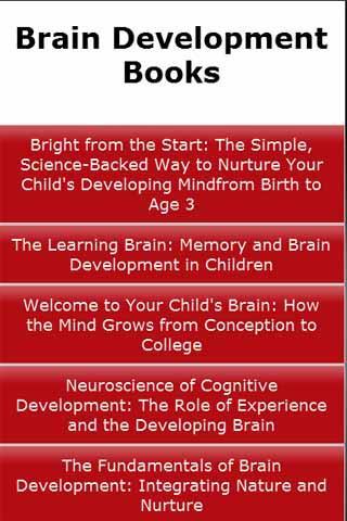Brain Development Books