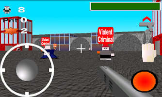 Screenshot of Quadroville 3D FPS - Free