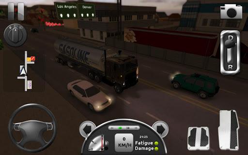 Truck Simulator 3D (Mod Money)
