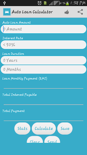 Car Auto Loan Calculator India
