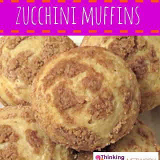 Crumb Topped Zucchini Muffins