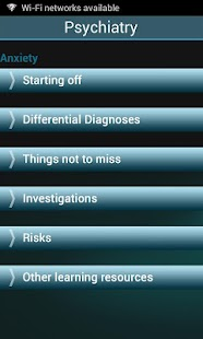 Psychiatry UoN - screenshot thumbnail