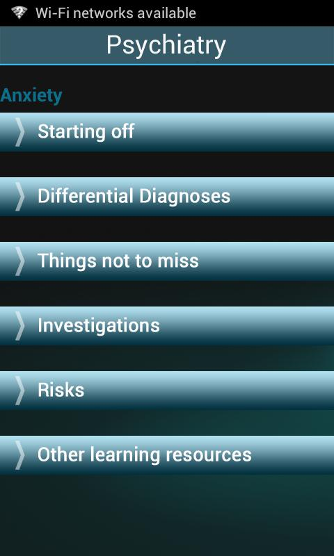 Psychiatry UoN - screenshot