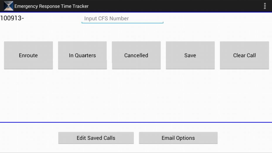 Emergency Response - screenshot