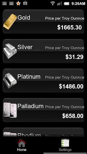 Gold Silver Calculator Free