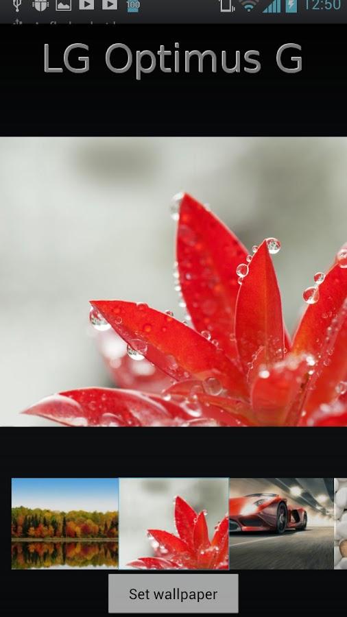LG Optimus G Wallpapers HD - screenshot