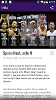 Screenshot of Sports.fr
