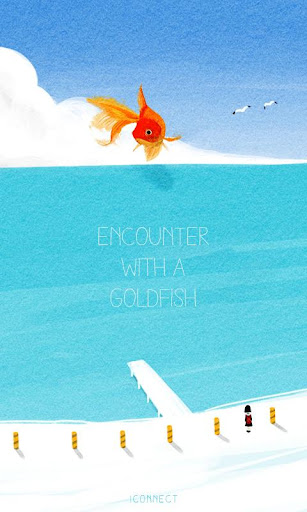 Goldfish go launcher theme