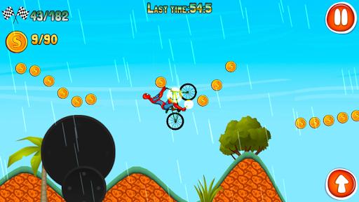 Spidy Man BMX