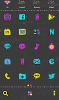 Screenshot of vivid diamond dodol theme