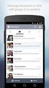 Facebook at Work Screenshot 2