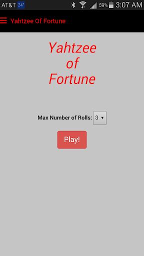 Yahtzee Of Fortune - Free