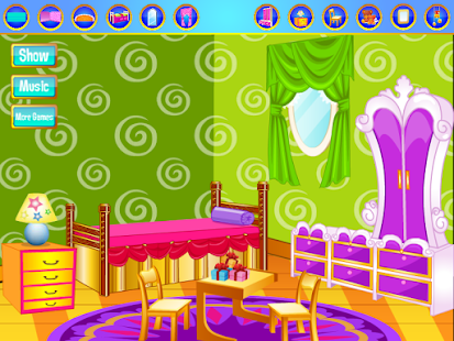 Baby room decorating games apps on google play for Room design game app