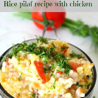 Chicken Rice Pilaf.