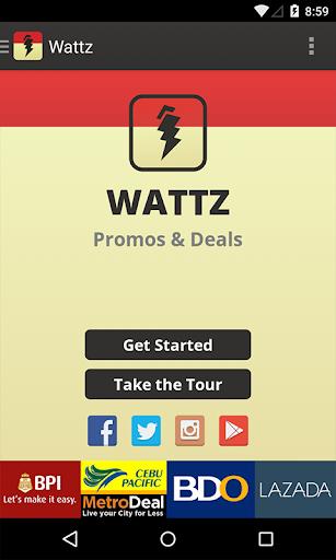 Wattz: Promos and Deals