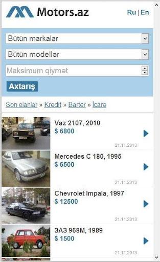 Motors.Az Avtomobil bazari