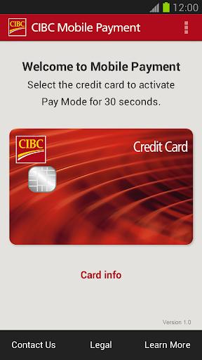 CIBC Mobile Payment™ App