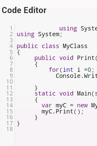 CSharp Code Executor