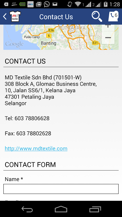 MD Textile Check Stock & Shop- screenshot