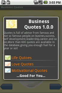 Business Quotes - screenshot thumbnail