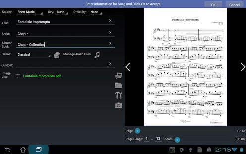 MobileSheets Music Reader- screenshot thumbnail