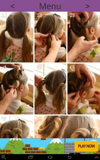 Hairstyles for girls 24.0.0 screenshots 4