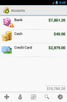 Screenshot of Cash Droid