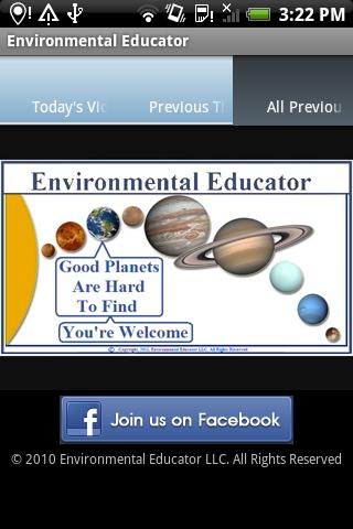 Environmental Educator - screenshot