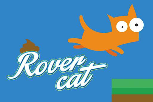 Rover Cat - poop the world