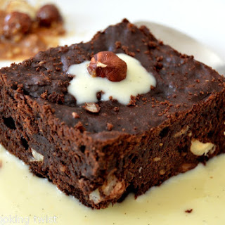 Tasty Chocolate and Hazelnut Brownie {Guest Post} Recipe