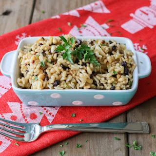 Greek Holiday Rice Stuffing