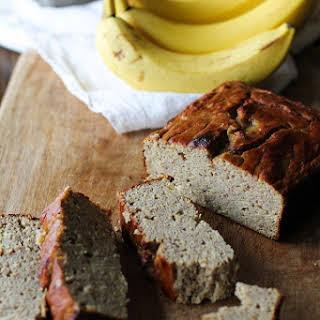 Coconut Flour Banana Bread (Paleo).