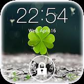 Download Galaxy rainy lockscreen APK