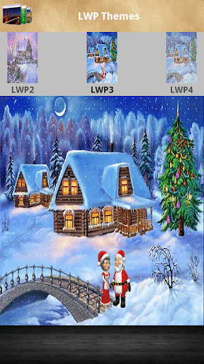 XMas3D Animated Live Wallpaper