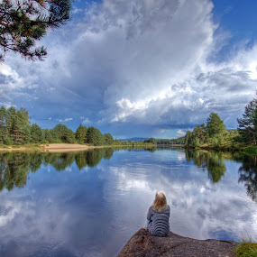 Peace by Roger Gulle Gullesen - Landscapes Cloud Formations
