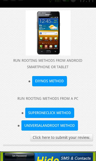 Root Android all devices apk screenshot 7