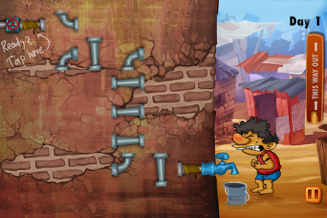 Slumdog Plumber & Pipes Puzzle - screenshot thumbnail