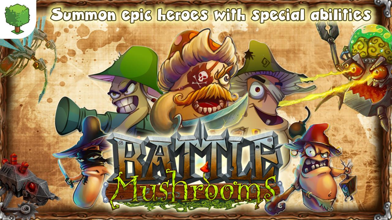 Battle Mushrooms - screenshot